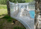 We can also radius fence to fit your need.