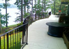 R&R Ornamental Iron is the best when it comes to radius railings.