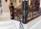 This is a beautiful wrought iron masterpiece.