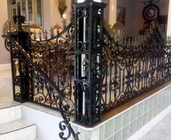 Residential Wrought Iron Railing